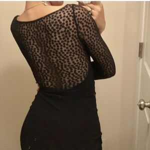 AA Mesh Midi Dress
